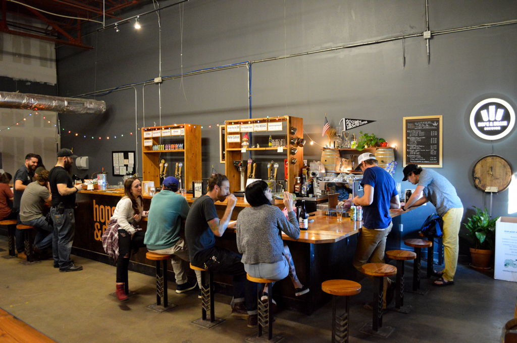 Hops and Grain Brewery Top Texas Craft Beer Good Eats Austin Local Mike Puckett Photography WG-2