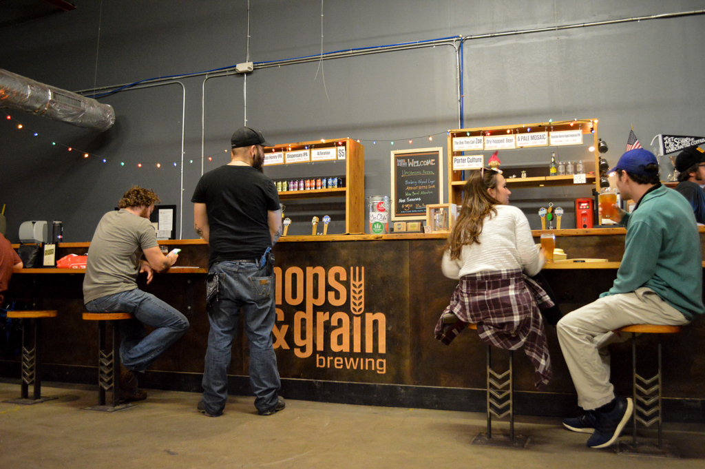 Hops and Grain Brewery Top Texas Craft Beer Good Eats Austin Local Mike Puckett Photography WG-5